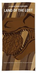 No773 My Land Of The Lost Minimal Movie Poster Hand Towel