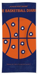 No782 My The Basketball Diaries Minimal Movie Poster Hand Towel