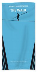 No796 My The Walk Minimal Movie Poster Hand Towel