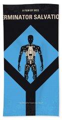 No802-4 My The Terminator 4 Minimal Movie Poster Bath Towel