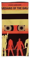 No812 My Guardians Of The Galaxy Minimal Movie Poster Hand Towel