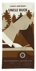 No818 My Uncle Buck Minimal Movie Poster Hand Towel