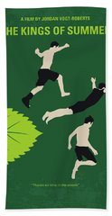 No865 My The Kings Of Summer Minimal Movie Poster Bath Towel