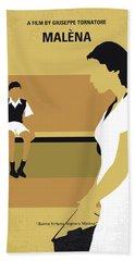 No870 My Malena Minimal Movie Poster Bath Towel