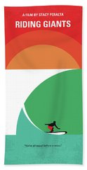 No915 My Riding Giants Minimal Movie Poster Hand Towel
