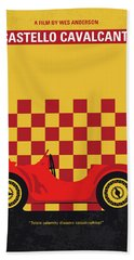 No927 My Castello Cavalcanti Minimal Movie Poster Bath Towel