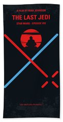 No940 My Star Wars Episode Viii The Last Jedi Minimal Movie Poster Hand Towel