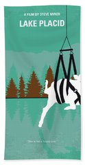 No944 My Lake Placid Minimal Movie Poster Hand Towel