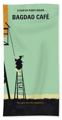 No964 My Bagdad Cafe Minimal Movie Poster Hand Towel