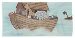 Noah's Ark Bath Towel