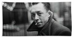 Nobel Prize Winning Writer Albert Camus Paris 1944 - 2015           Hand Towel