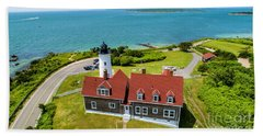 Nobska Light House  Hand Towel