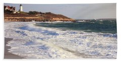 Nobska Point Seascape Bath Towel