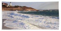Nobska Point Seascape Hand Towel