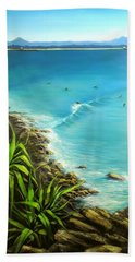 Noosa National Park Hand Towel by Chris Hobel