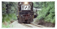 Norfolk Southern Passenger Excursion Bath Towel