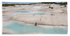 Norris Geyser Basin Bath Towel