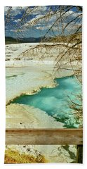 Norris Hot Spring Bath Towel by Greg Norrell