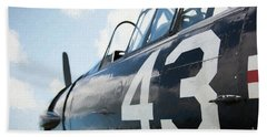 North American Harvard Hand Towel