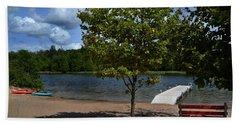 North Bar Lake Canoes Bath Towel