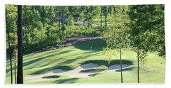 North Carolina Golf Course 12th Hole Hand Towel