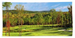 North Carolina Golf Course 14th Hole Bath Towel