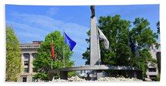 North Carolina Veterans Monument Bath Towel