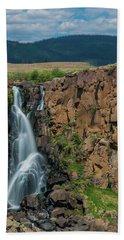 North Clear Creek Falls, Creede, Colorado Bath Towel