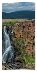 North Clear Creek Falls, Creede, Colorado Hand Towel