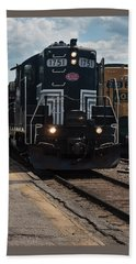 Conway Scenic Railroad - New Hampshire Hand Towel by Suzanne Gaff