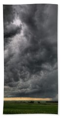 North Dakota Thunderstorm Bath Towel