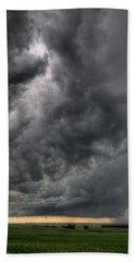 North Dakota Thunderstorm Bath Towel