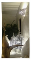 North - Eastern African Home - Lanterns And Jug Hand Towel