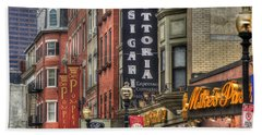North End Charm 11x14 Bath Towel by Joann Vitali