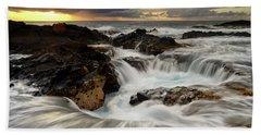 North Kona Coastline Bath Towel