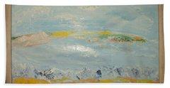 North Landscape. Summer Hand Towel