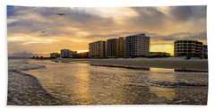 North Myrtle Beach Sunset Bath Towel