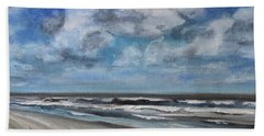 North Sea Scape Bath Towel