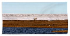 North Slope Hand Towel by Anthony Jones