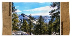 Hand Towel featuring the photograph North View by Susan Kinney