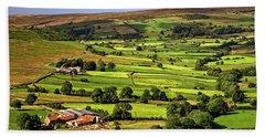 North York Moors Countryside Bath Towel