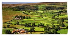 North York Moors Countryside Hand Towel