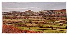 North Yorkshire Landscape Bath Towel