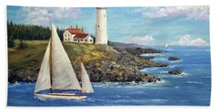 Northeast Coast Hand Towel