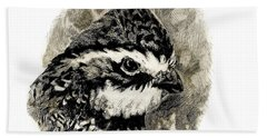 Northern Bobwhite Bath Towel