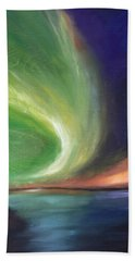 Northern Lights Bath Towel