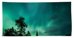 Northern Lights Tonight Hand Towel