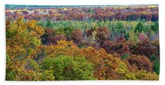 Northern Michigan Fall Bath Towel