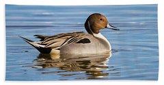 Northern Pintail Duck Bath Towel