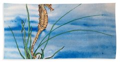 Northern Seahorse Hand Towel